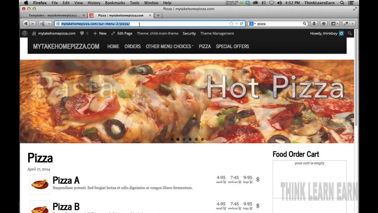 How to build a wordpress food menu delivery system from scratch NO ...