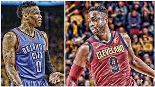 Dwyane Wade calls out Cavs starters for being bad • Russell Westbrook isn