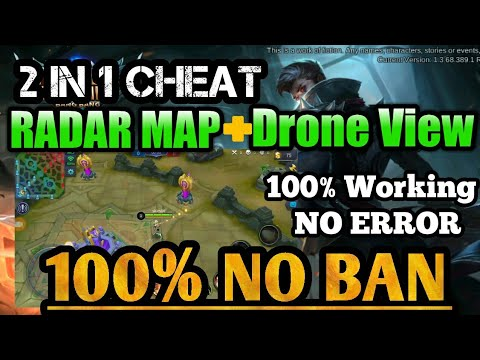 FIXED! NO BAN Radar Map + Drone View | 2in1 Script v1.3.68