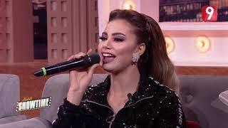 Abdelli Showtime |  شيرين اللجمي تهدي أغنية للبنات العازبات