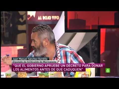 """Sánchez Gordillo y sus """"atracos"""" a supermercados"""