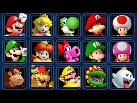 Mario Kart Double Dash HD - All Characters