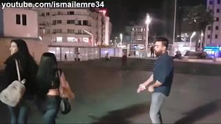 Arap Cocuk Türk Kızlarına Laf Atıp Taciz Ediyor.. Ve Sonrası Yaşananlar! Taksim Meydanı..