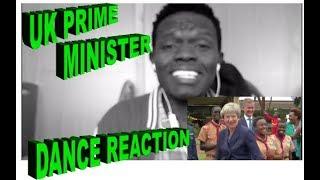 UK Prime Minister Theresa May /KANYANGA | ODI DANCE in Kenya. She Got MOVES!!!REACTION