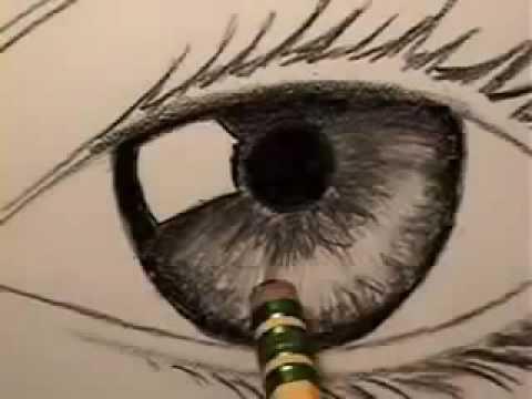 كيفية رسم العين بطريقة سهلة للمبتدئين Youtube