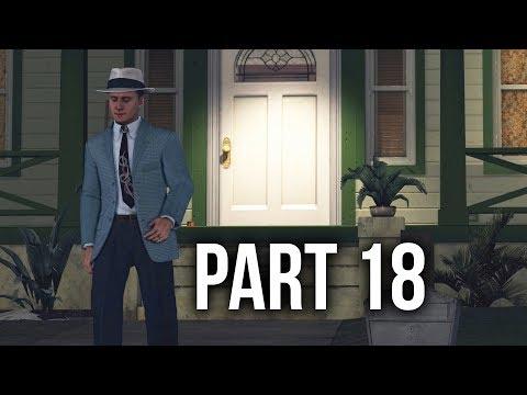 LA Noire Remastered Gameplay Walkthrough Part 18 - MANIFEST DESTINY (Last Vice Case)