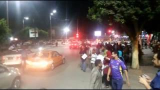 عااااجل : الاسماعيلية تبدأ أحتفالات شعبية واسعة بالشوارع والميادين  بافتتاح قناة السويس الجديدة