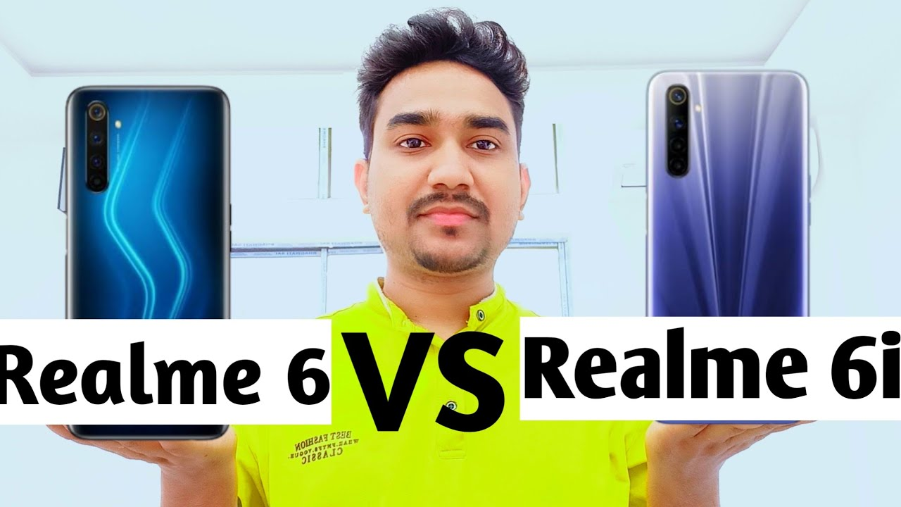 Realme 6 Vs Realme 6i Comparison !! Which Should You Buy ? Which One Value For Money  ?