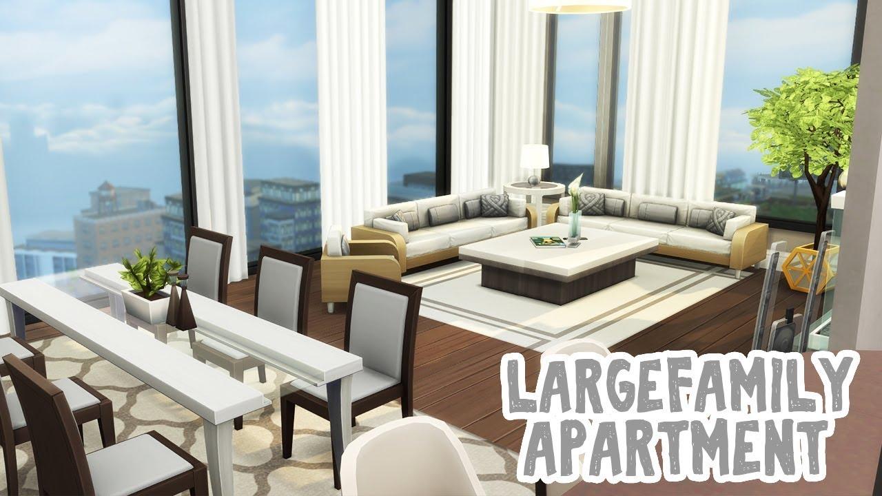 Large Family Apartment || The Sims 4 Apartment Renovation