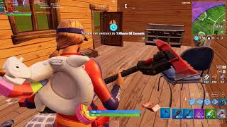 Fortnite sun strider skin first try WIN in Solo showdown