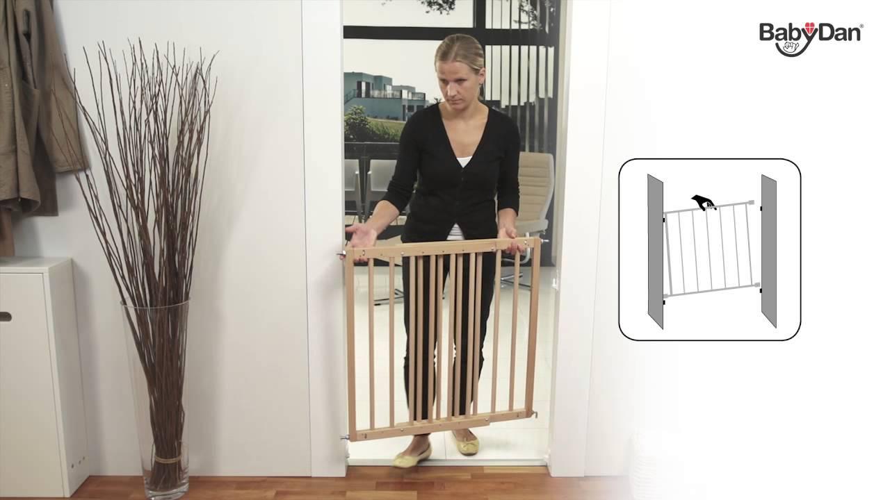 Multidan Wood Safety Gate From Baby Dan