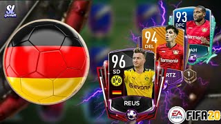 FULL ALEMANIA SPECIAL CARDS SQUAD BUILDER!! *OVR 112*//FIFA20 MOBILE