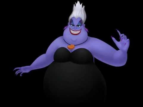 Voix Pat Carroll as Ursula in Kingdom Hearts 3D: Dream Drop Distance Battle Quotes