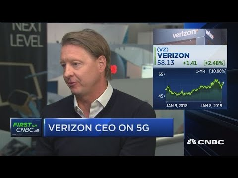5G a 'huge, quantum leap' for industry: Verizon CEO