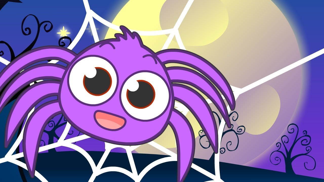 ITSY BITSY SPDIDER HALLOWEEN Spider Song 🕸 Nursery rhymes