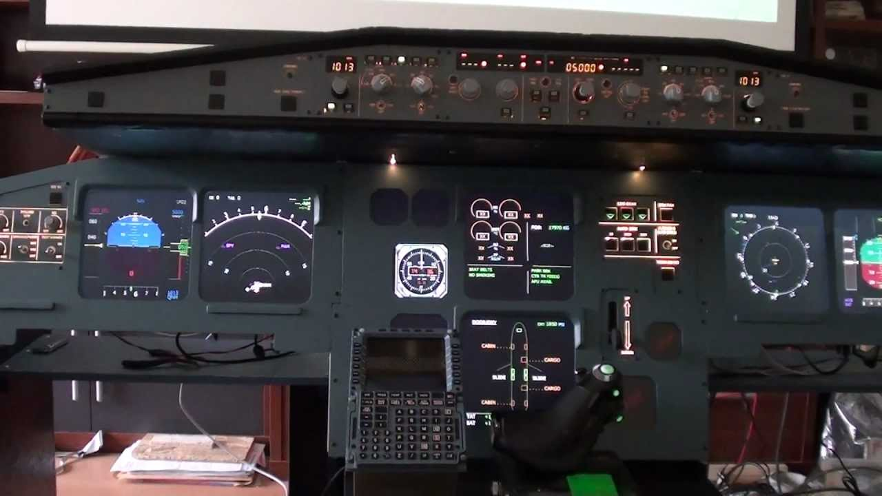 Home Cockpit A320