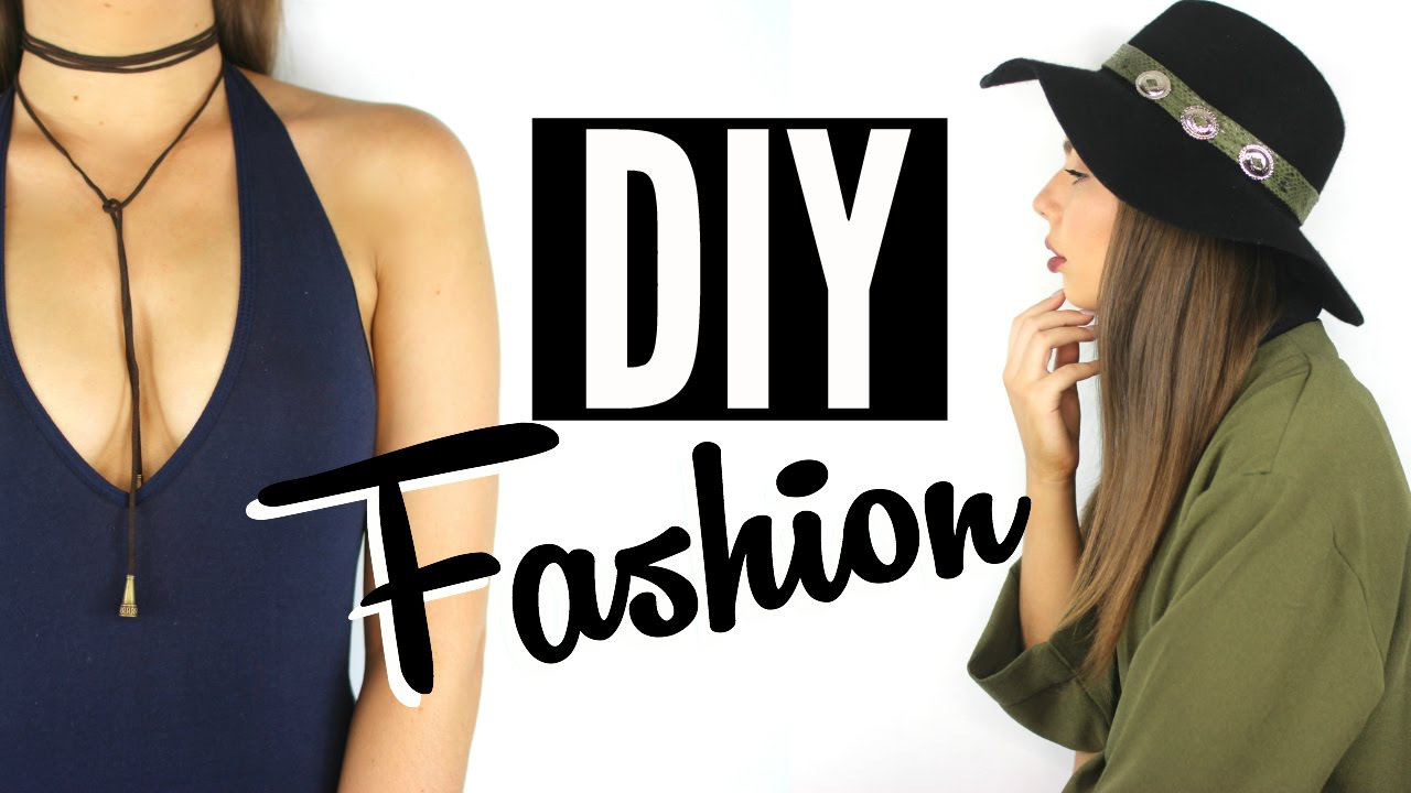 Easy DIY Fashion Accessories | Steal The Spotlight - YouTube