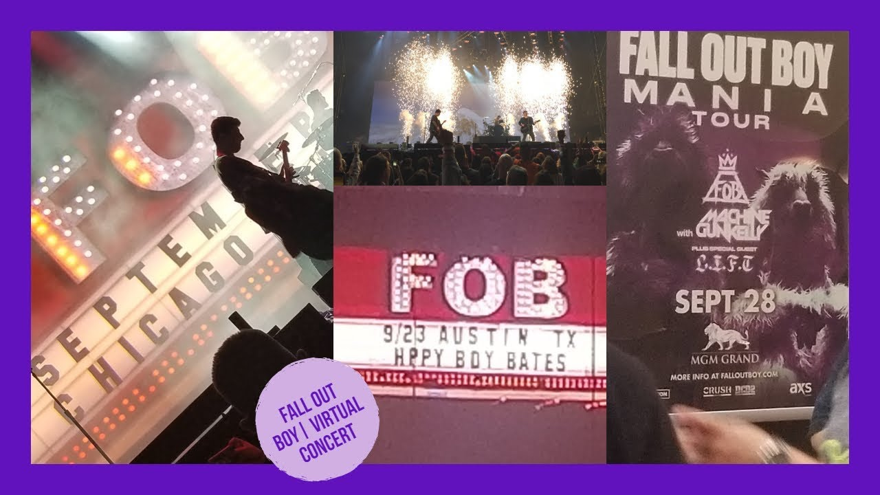 Fall Out Boy The Mania Tour Compilation Youtube