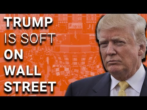 Fill the Swamp: Wall Street Fines Down 66% Under Trump