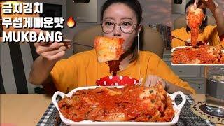 [ENG SUB] GeumChi Kimchi (Fearfully Spicy Taste) Kimchi (spicy) *Dorothy Mukbang*