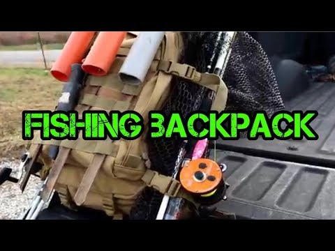 Why you should get a fishing backpack