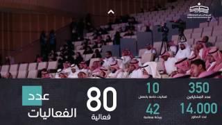 إحصاءات  معرض الرياض الدولي للكتاب 2017 📚