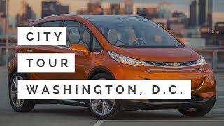 Washington, D.C. City Tour in New Chevy Bolt EV