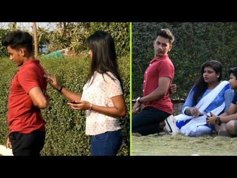thoda idhar khujado prank on cute girl | justwow |
