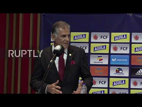 Colombia: Carlos Queiroz named as new Colombia boss