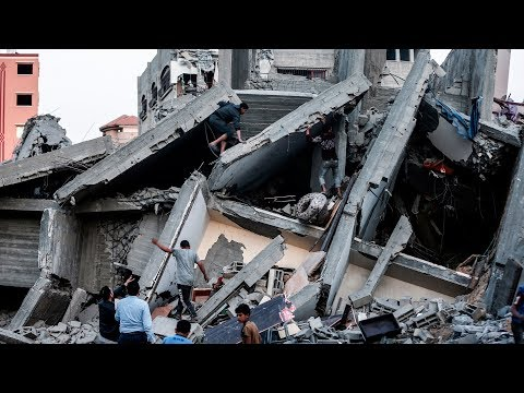 Israel's Netanyahu pledges 'massive strikes' in Gaza over deadly rocket attacks