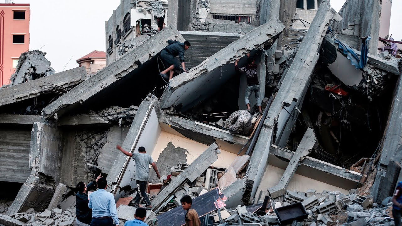 Israel's Netanyahu pledges 'massive strikes' in Gaza over deadly rocket attacks