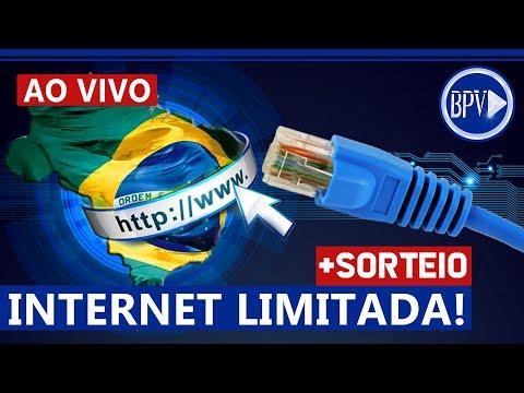 INTERNET LIMITADA, o que vai Acontecer? + SORTEIO - LIVE BPV