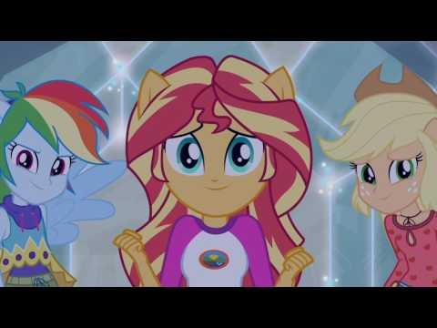 La Batalla de Las Chicas [Latino] - Equestria Girls: La Leyenda de Everfree [HD]