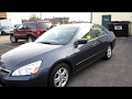 2007 Honda Accord Start Up, Engine, & Review