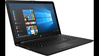 hP LAPTOP- INTEL CORE i3- 5005u 15.6 inch 500gb, 4gb, windows10 unboxing