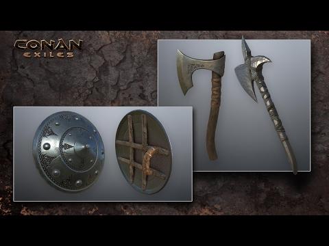 Conan Exiles Gameplay - Beginning To Iron Tools Tutorial