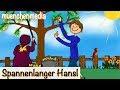 🎵 Spannenlanger Hansel - Kinderlieder zum Mitsingen | Kinderlieder deutsch - muenchenmedia