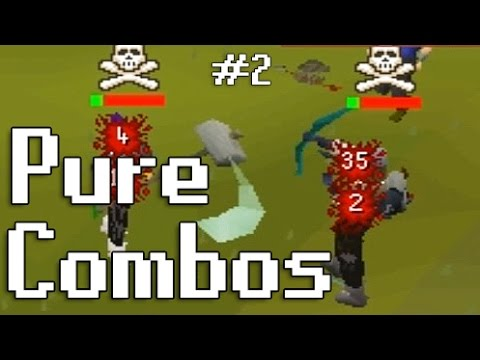 Oldschool Runescape Pure Combos - Rune scimitar to Crossbow to Gmaul - #2