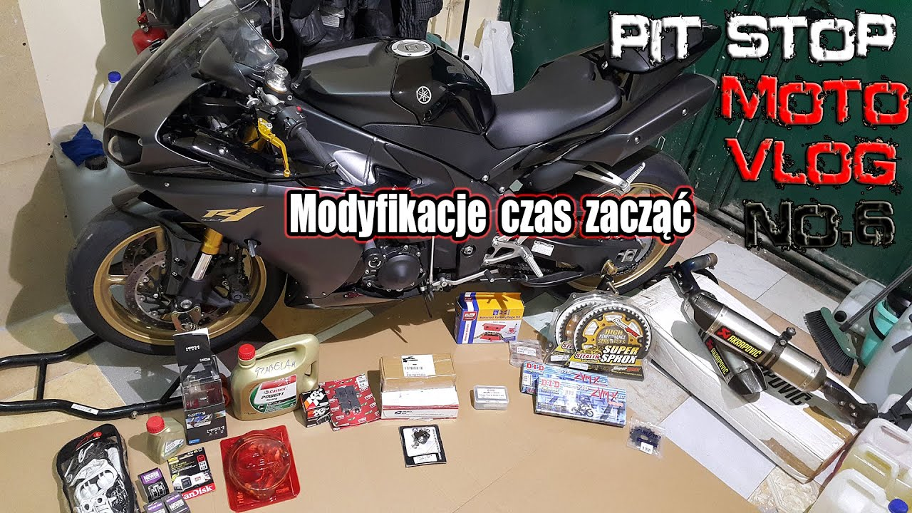 Yamaha r1 rn22 winter mods parts review zimowe for Yamaha parts pit stop