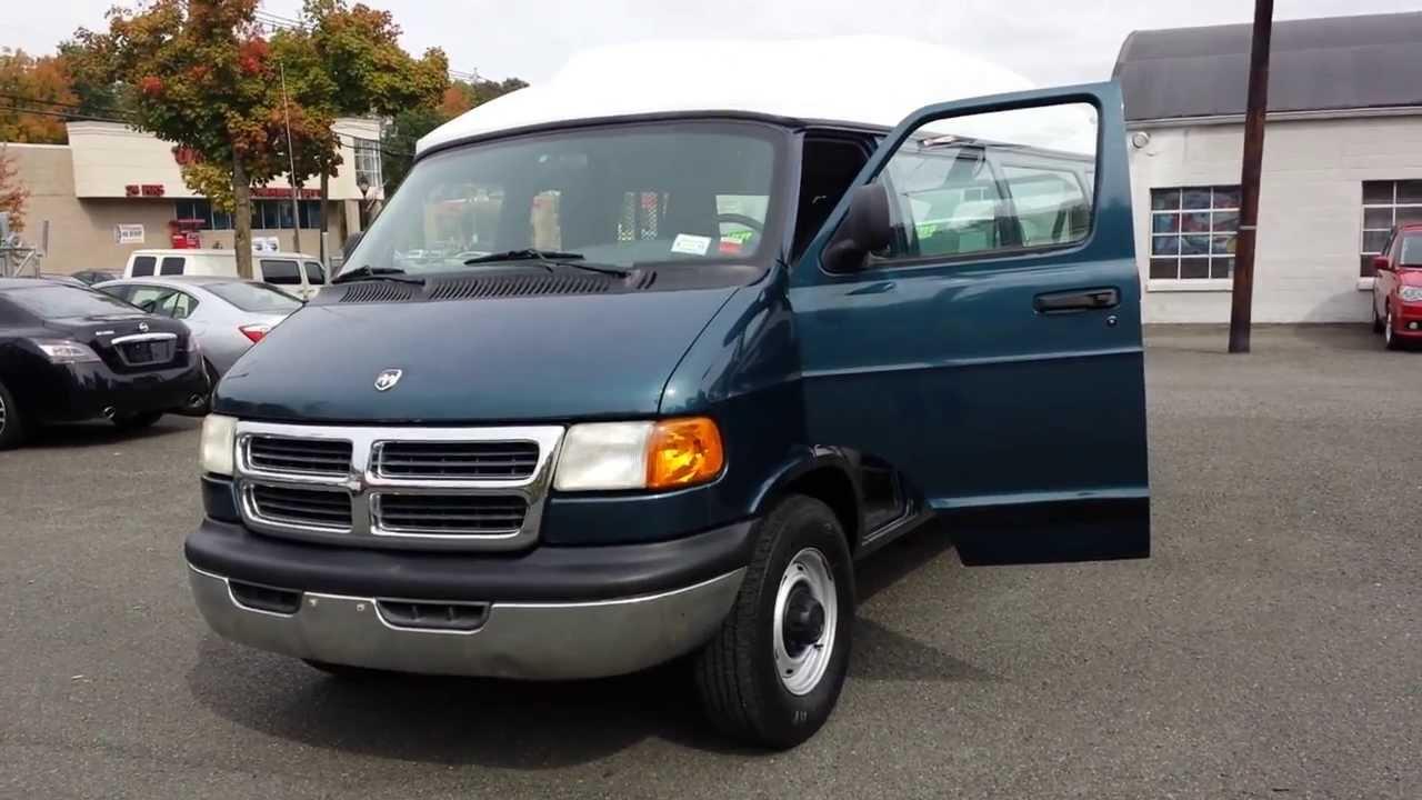 1999 Dodge High Top Handicap Van Ram 3500 W Wheelchair Lift You