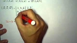 GEA Unidade 4 / Produto Misto / Volume do Paralelepípedo, Prisma e Tetraedro / Exercício Resolvido
