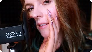 ASMR Soft/Slow Breathing & Ear Blowing for Anxiety Relief an...