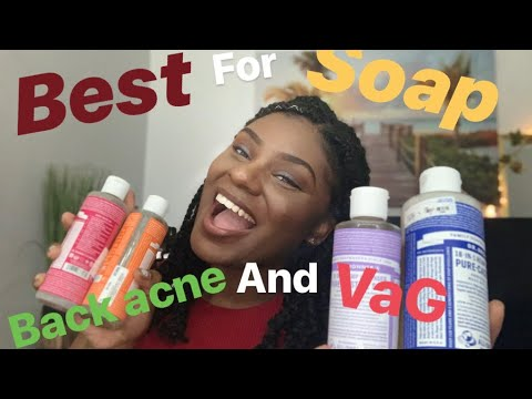 V-TALK   ORGANIC SOAP FOR BODY ACNE AND 😻