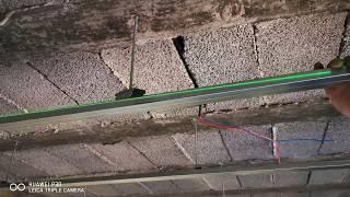 تركيب الأجزاء المعدنية لسقف بلاكو