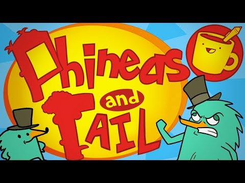 Knock-Off Phineas and Ferb Characters