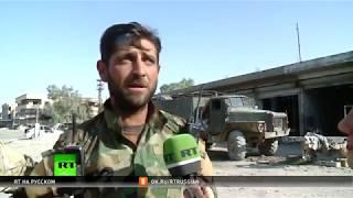 Syria 2017 free Город Аль Маядина в Сирии освобождён, ИГ трусливо бегут