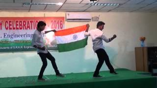 srkr engineering college bhimavaram republic day celebrations 201