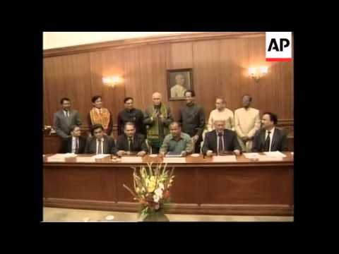 India govt signs agreement with Assam gov+ Bodo LIberation Tigers