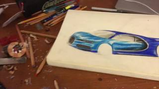 HOW TO DRAW: BUGATTI CHIRON + GIVEAWAY!!!!