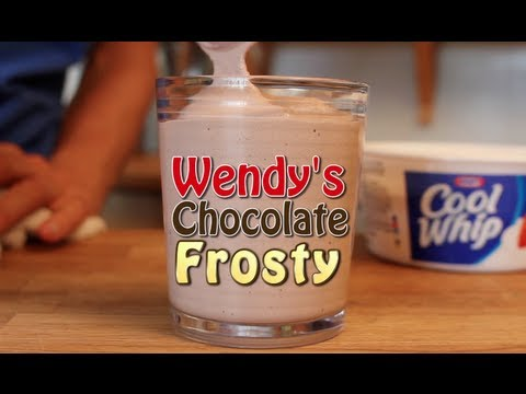 Wendy's Chocolate Frosty - 3 Ingredient Clone Recipe ...